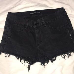 Express Lace Up Shorts